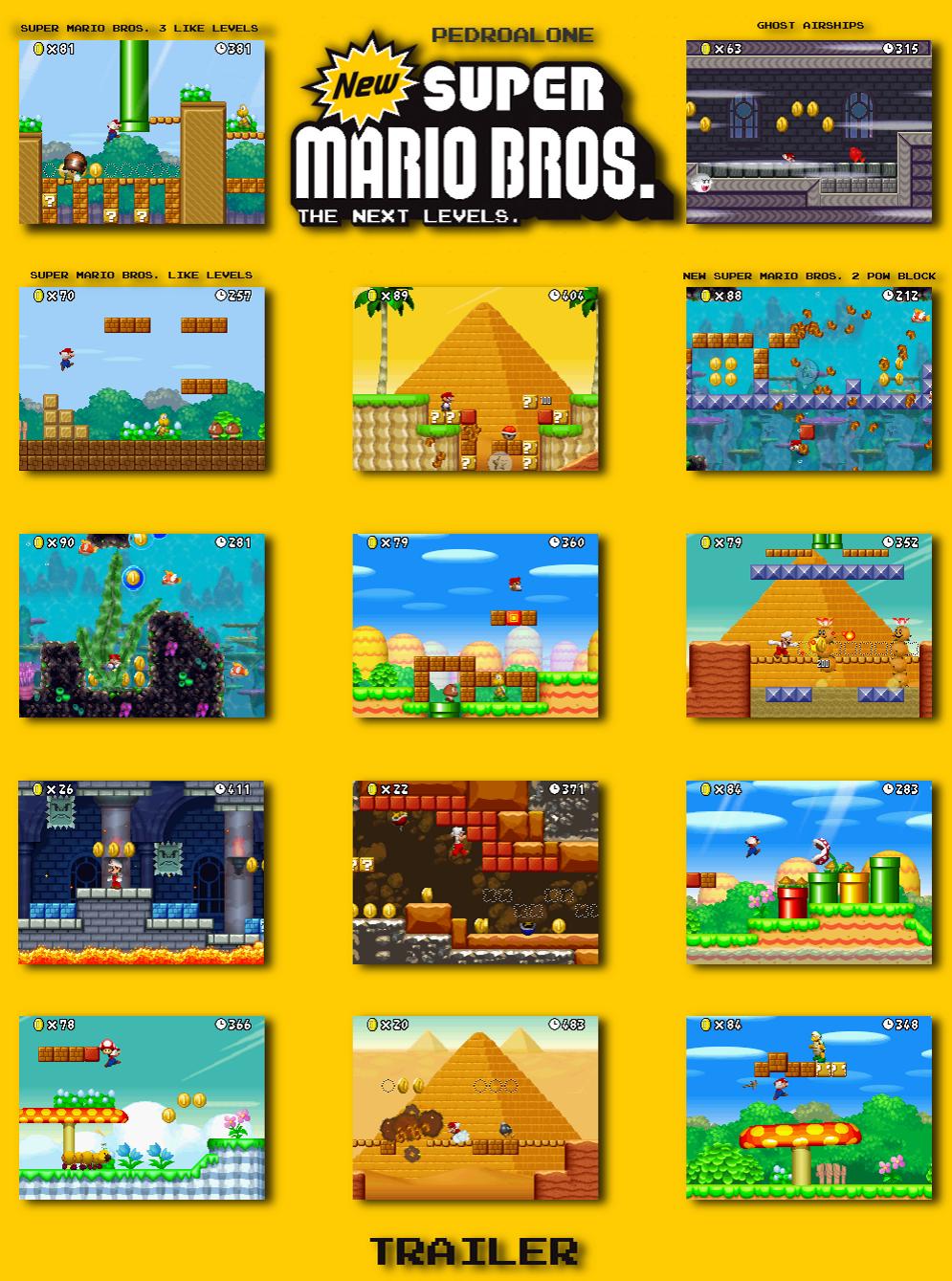 The NSMB Hacking Domain » New Super Mario Bros  The Next Levels